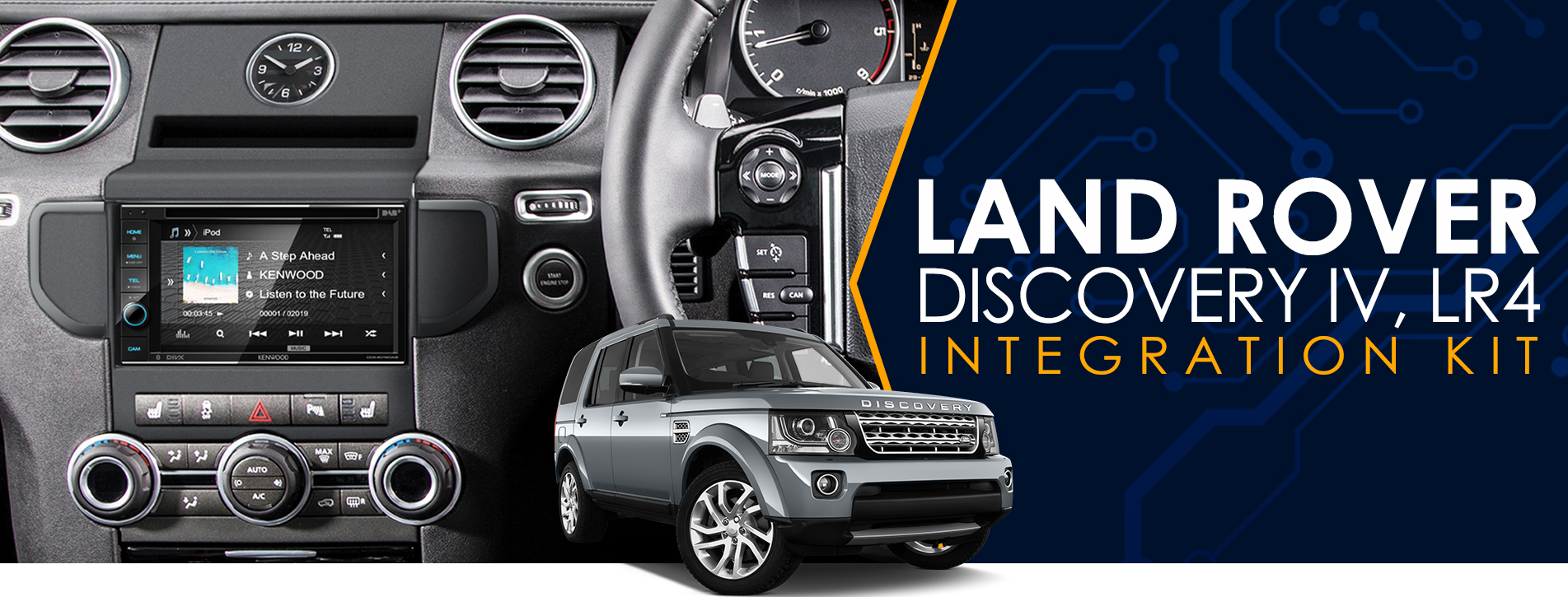 Land Rover Installation Kit
