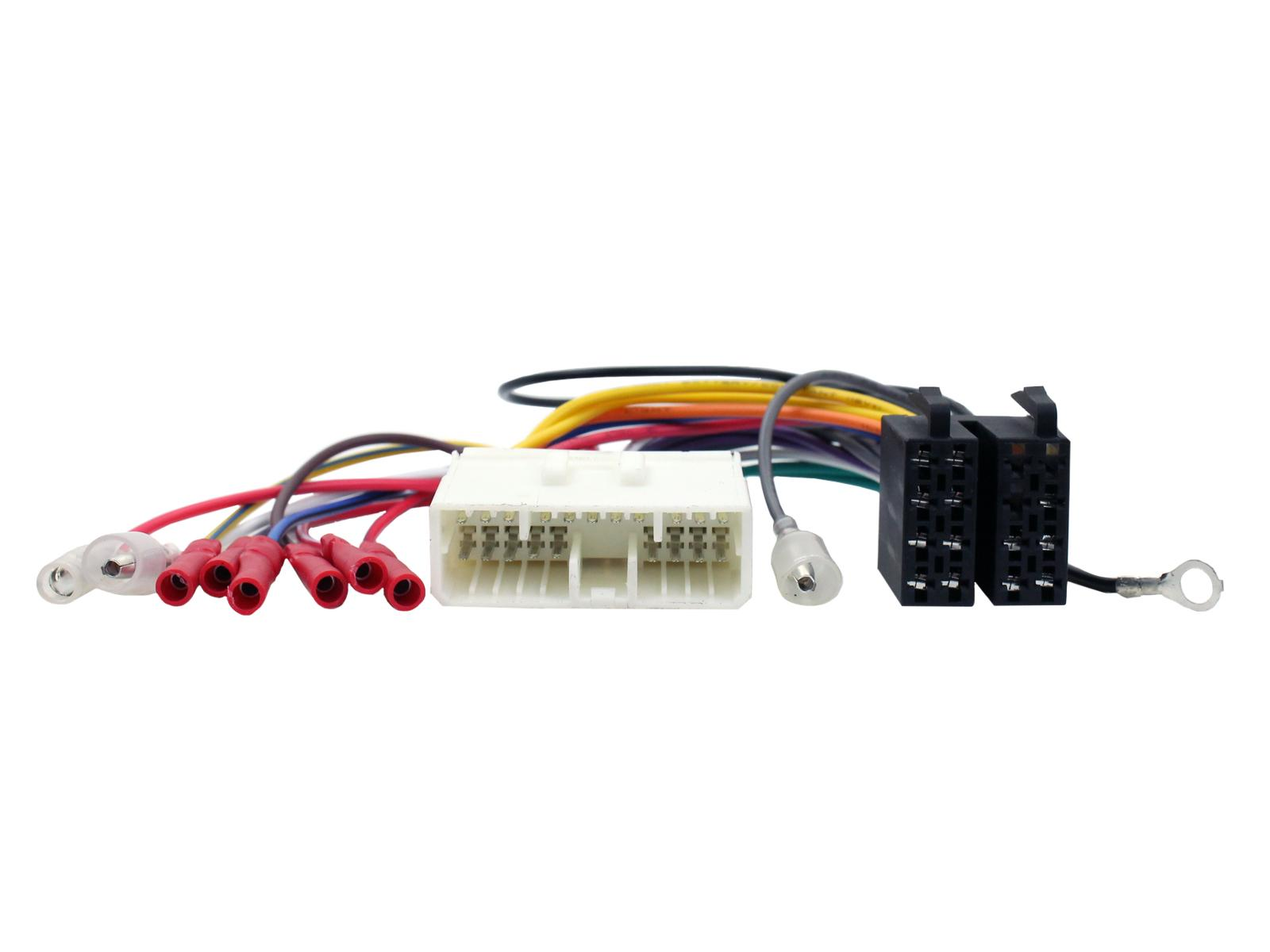 Connects2 Ltd Wiring Harness Ends Vehicle Application Guide