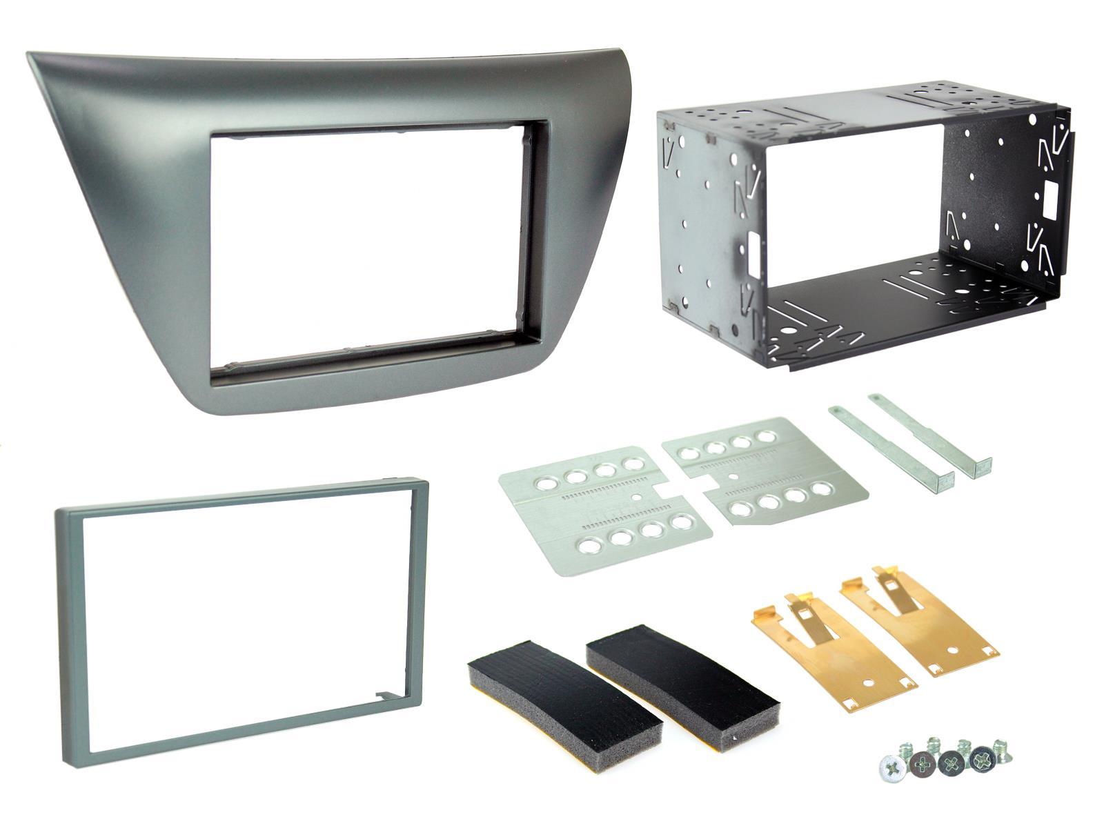 Mitsubishi L200 2006 On Car Stereo Radio Double Din Facia Fascia Panel CT23MT12