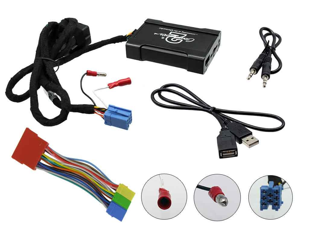 Connects2 Ltd Nissan Wiring Usb Harness Connection Installation Instructions